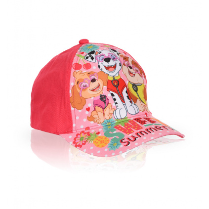 Dívčí kšiltovka PAW PATROL SWEET SUMMER růžová