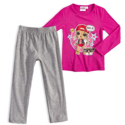 Dívčí pyžamo LOL SURPRISE ROCK růžové