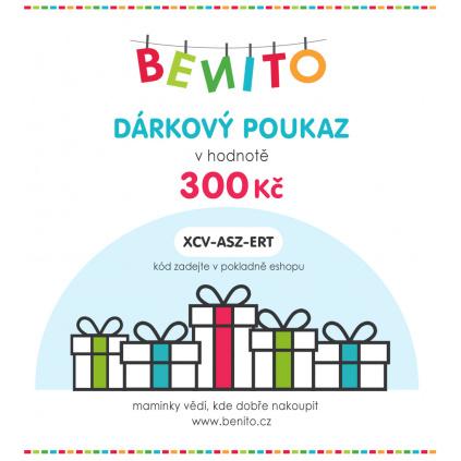 DÁRKOVÝ POUKAZ 300