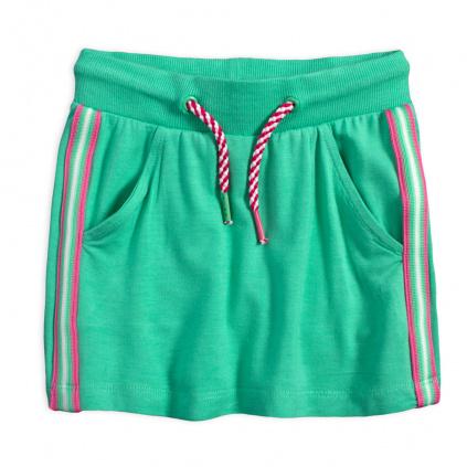Dívčí sukně LEMON BERET JADE zelená