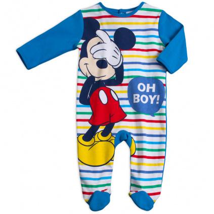 kojenecký overal Mickey Mouse Oh Boy modry