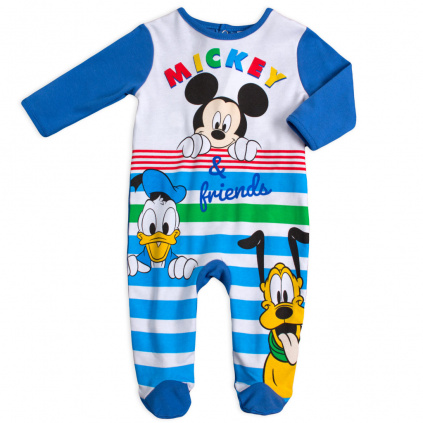 kojenecký overal Mickey and Friends modry