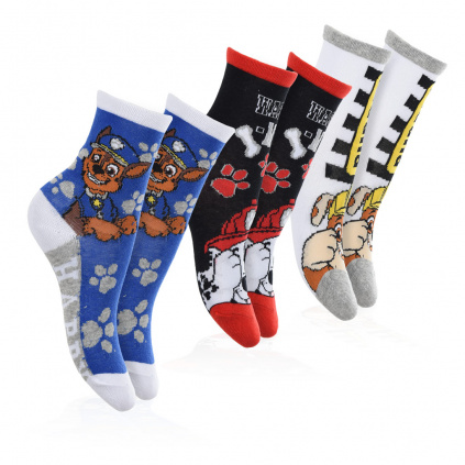 Chlapecké ponožky PAW PATROL PACK 2