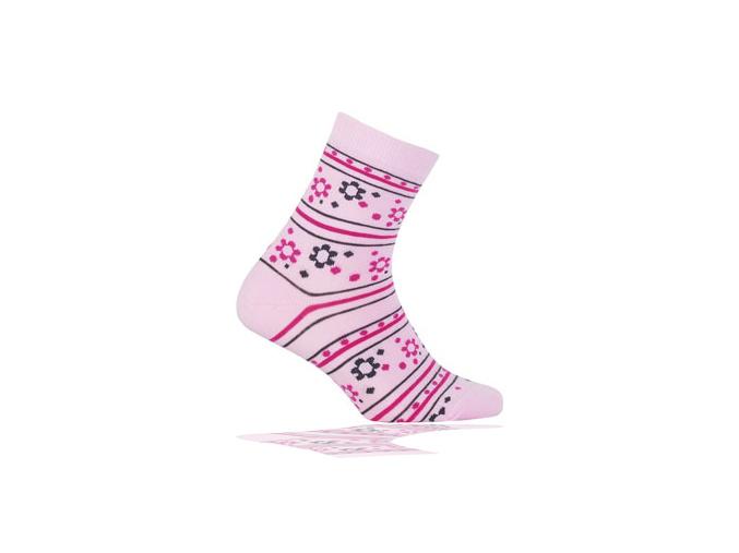 Dětské ponožky GATTA, vzor KYTIČKY WOLA KYTIČKY