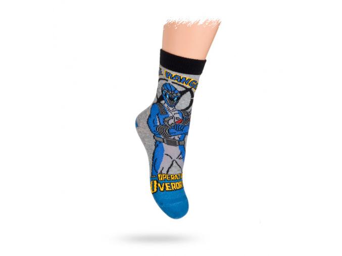 DISNEY vzorované ponožky POWER RANGERS