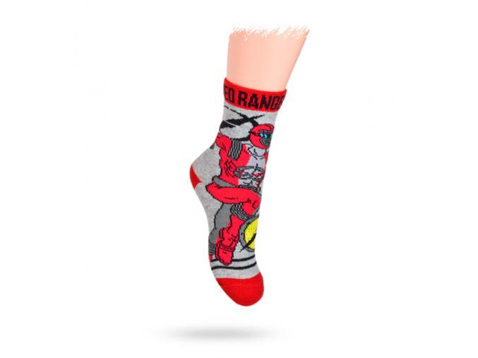 Dětské ponožky DISNEY vzor POWER RANGERS