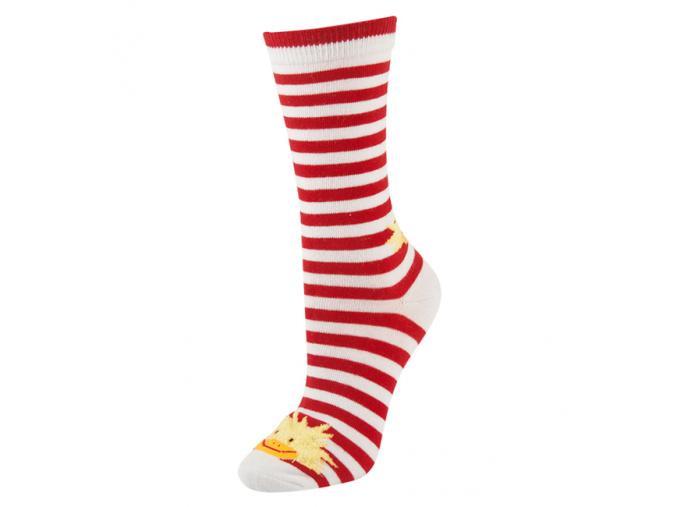 SOXO ponožky pruhované KUŘE