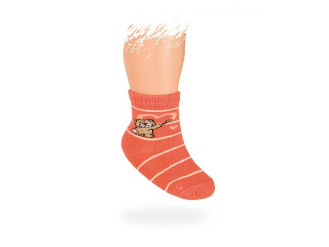 Kojenecké vzorované ponožky MÉĎA
