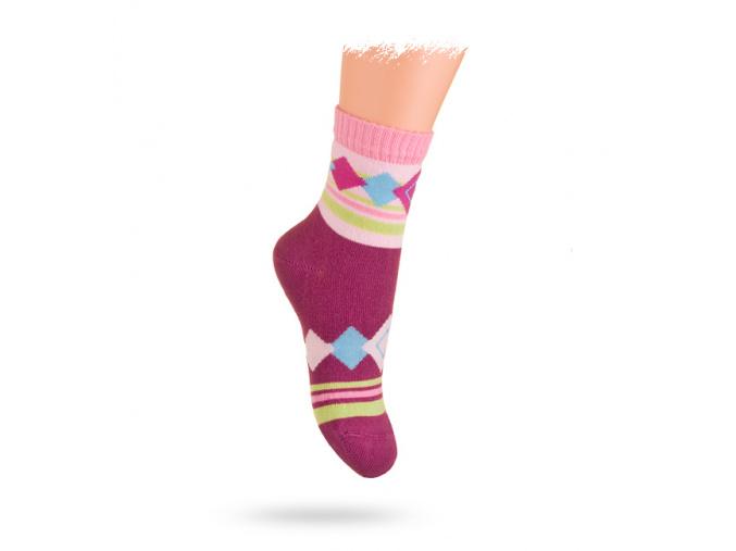 Ponožky WOLA vzor ORNAMENTY