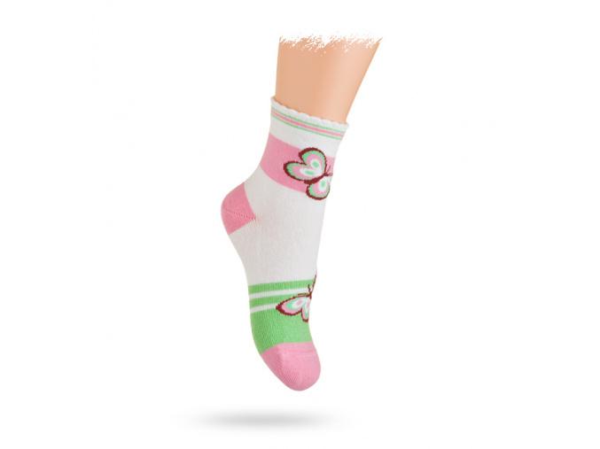 Ponožky WOLA se vzorem MOTÝLCI