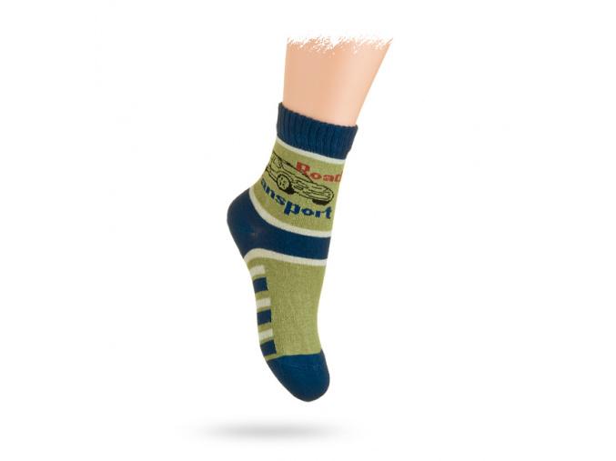 Ponožky vzor AUTO