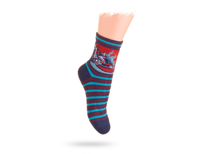 Dětské ponožky se vzorem FORMULE