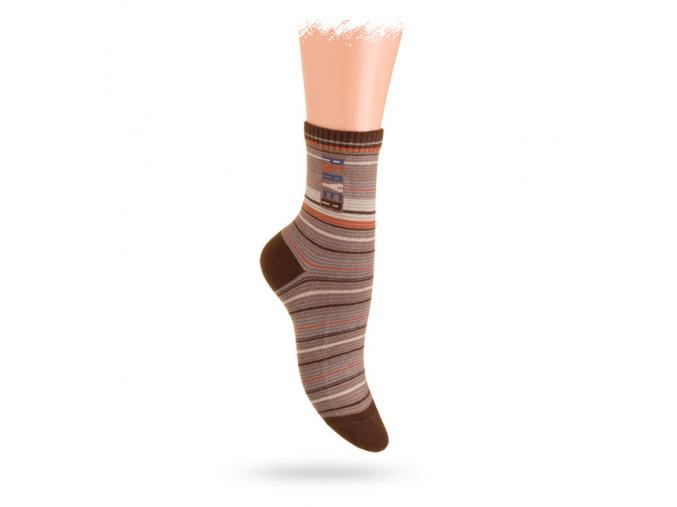 WOLA ponožky se vzorem PLAYER