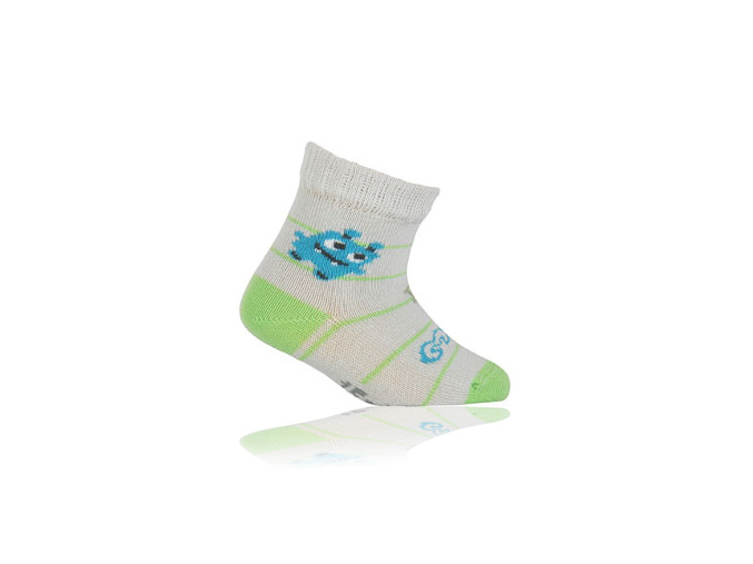 Kojenecké ponožky WOLA vzor MONSTER