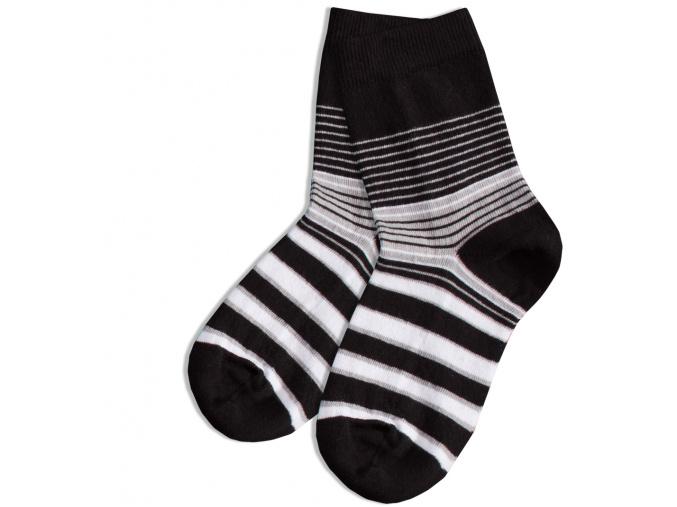 Dětské ponožky GATTA, vzor PROUŽKY WOLA