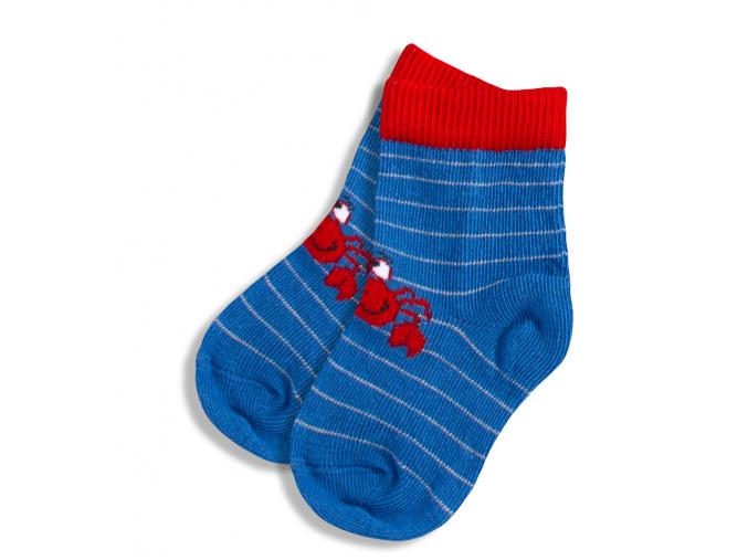 Kojenecké ponožky WOLA vzor KRAB