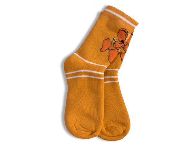Dětské termo ponožky, vzor KAČER GATTA