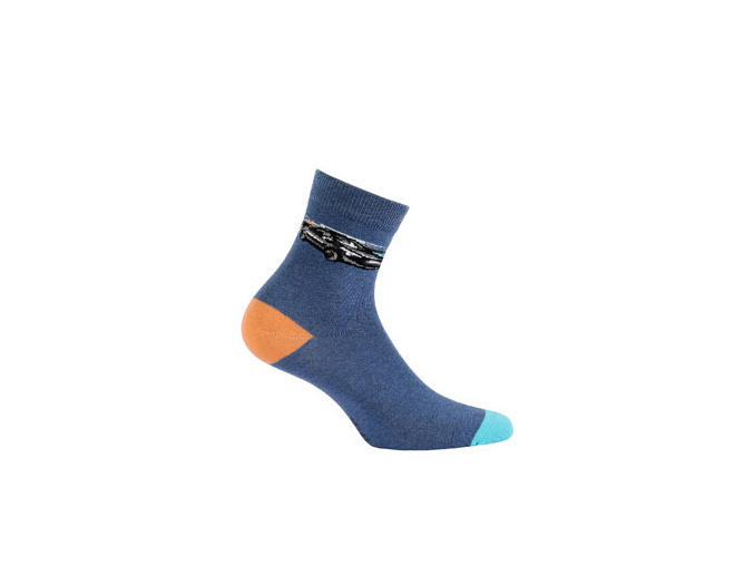 Ponožky WOLA vzorované AUTO