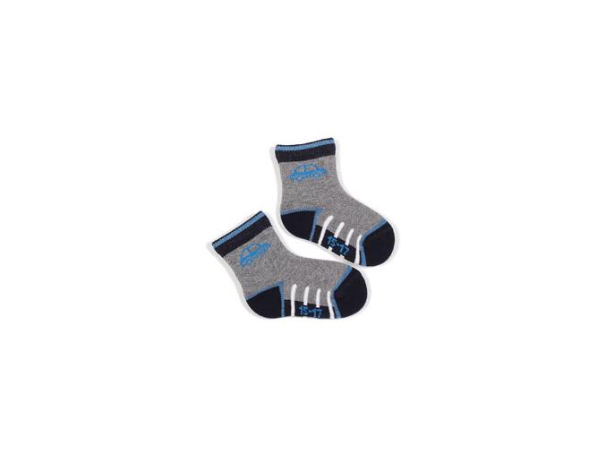 Kojenecké vzorované ponožky WOLA AUTO