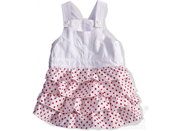 Dívčí sukně s laclem.