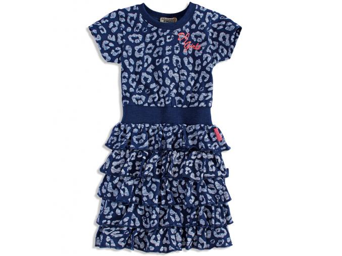 Dívčí bavlněné šaty DIRKJE DIRKJE