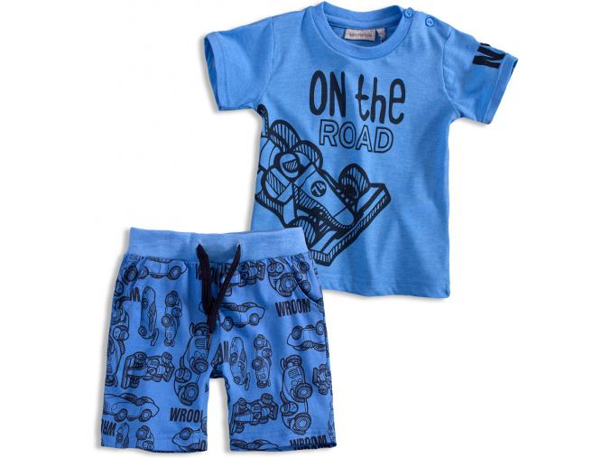 Chlapecký letní komplet Mix´nMATCH ROAD modrý