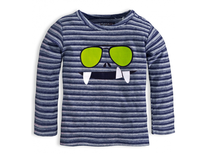 Chlapecké triko KNOT SO BAD GLASSES modré