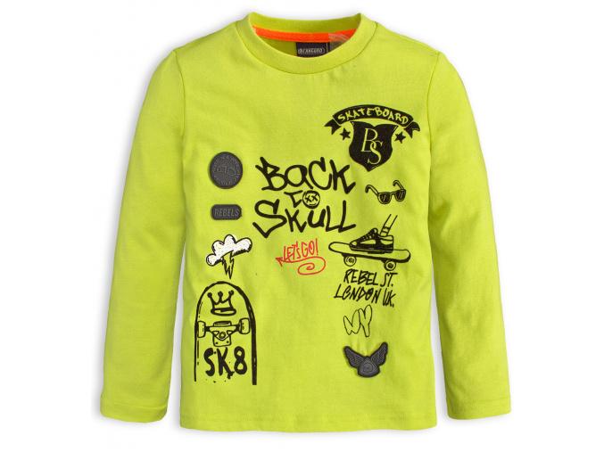 Chlapecké tričko CANGURO SKATEBOARD zelené