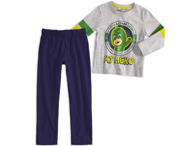 Chlapecké pyžamo PJ MASKS GEKKO šedé