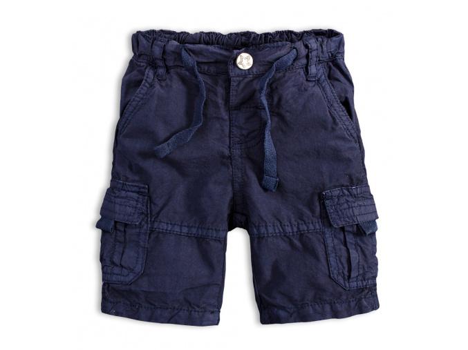 Chlapecké plátěné šortky PEBBLESTONE GREATEST modré