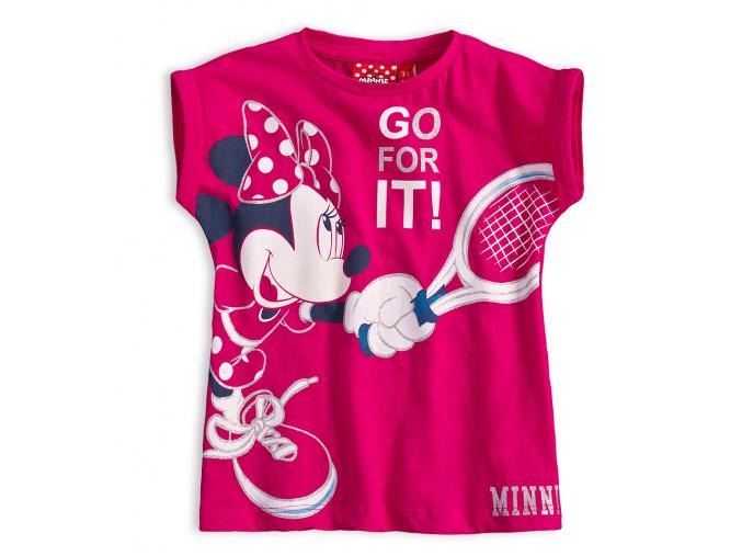 Dívčí tričko Disney MINNIE TENIS růžové