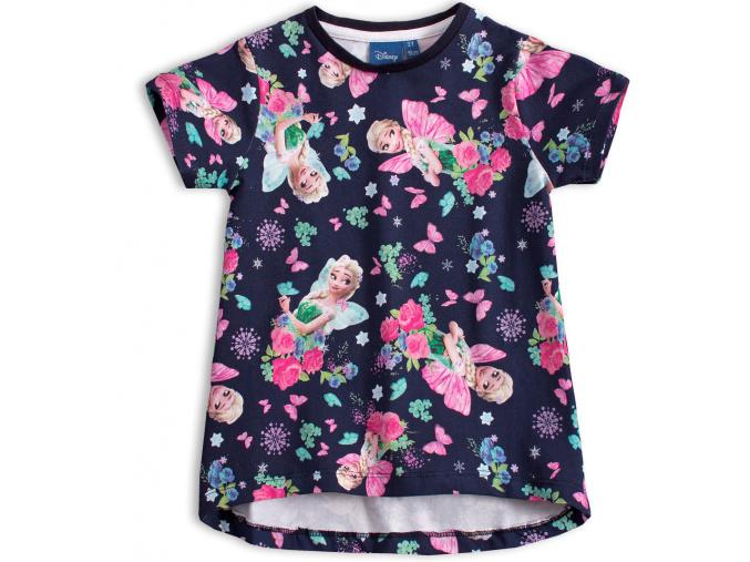 Dívčí tričko DISNEY FROZEN ELSA modré