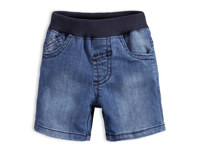 Kojenecké šortky KNOT SO BAD BAD BOY modré