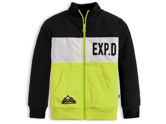 Chlapecká mikina Mix n Match EXP žlutá