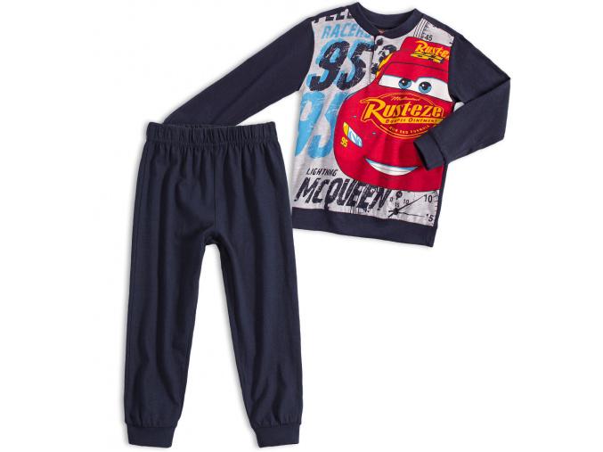 Chlapecké pyžamo Disney CARS McQUEEN tmavě modré