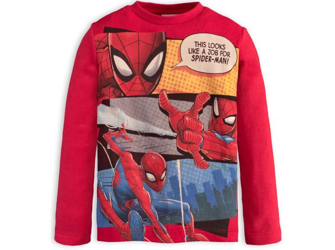 Chlapecké tričko SPIDERMAN JOB červené