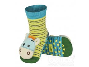 Ponožky s chrastítkem KONÍK