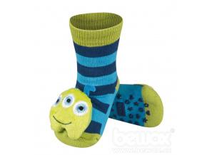 Ponožky s chrastítkem MARŤAN modré