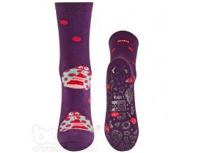Froté ponožky s protiskluzem BERUŠKA