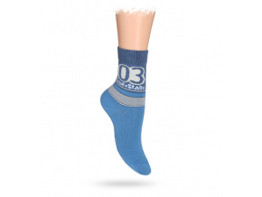 Dětské ponožky ABS vzor SUPER STAR
