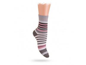 Wola ponožky PROUŽKY