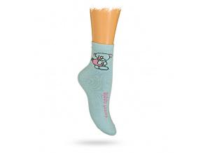 Dětské termo ponožky vzor MEDVÍDEK