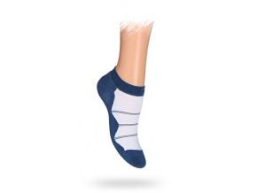 Dětské kotníkové ponožky PROUŽKY