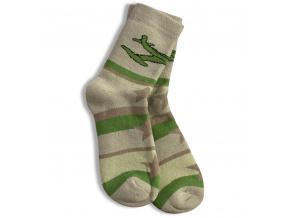 Dětské termo ponožky, vzor LETADLO GATTA