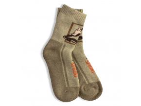 Dětské termo ponožky, vzor SPRINT GATTA