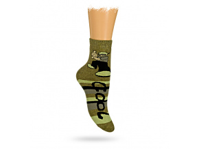 Dětské termo ponožky vzor KLUK