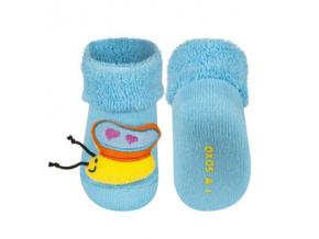 Ponožky s chrastítkem MOTÝLEK