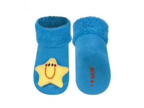 Ponožky s chrastítkem HVĚZDIČKA