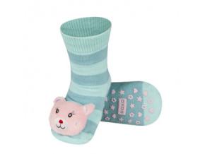 Ponožky s chrastítkem ZVÍŘÁTKO