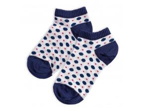 Kotníkové ponožky WOLA PUNTÍKY